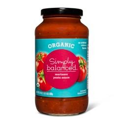 Organic Marinara Pasta Sauce 24oz - Simply Balanced™