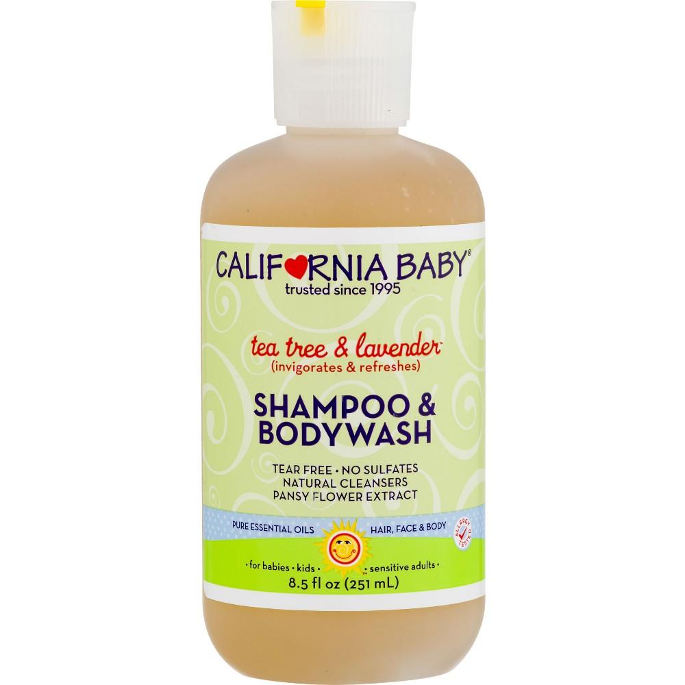 California Baby Tea Tree & Lavender Shampoo & Bodywash - 8.5 oz.