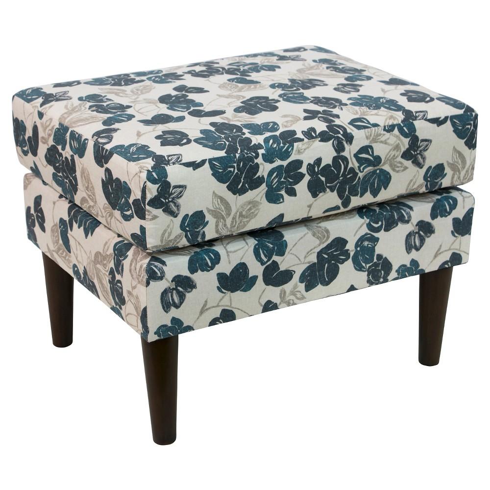 Benji Ottoman - Bloom Turquoise - Cloth & Co