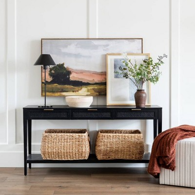 Black Console Table Décor Collection - Threshold™ designed with Studio McGee