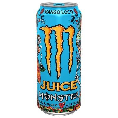 Juice Monster, Mango Loco - 16 fl oz Can