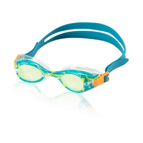 Speedo Kids Glide Print Goggle - Lime - image 1 of 1