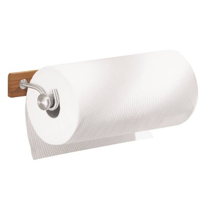 iDESIGN Formbu Wall Mount Paper Towel Holder Wood