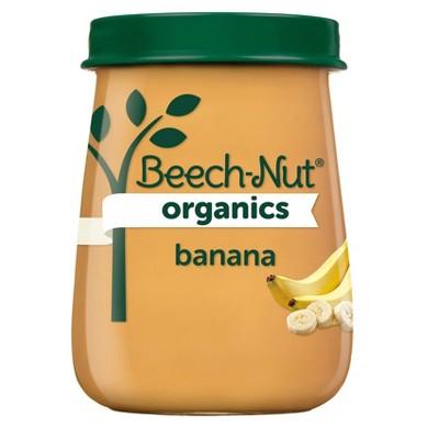 Beech-Nut Organics Bananas Baby Food Jar - 4oz