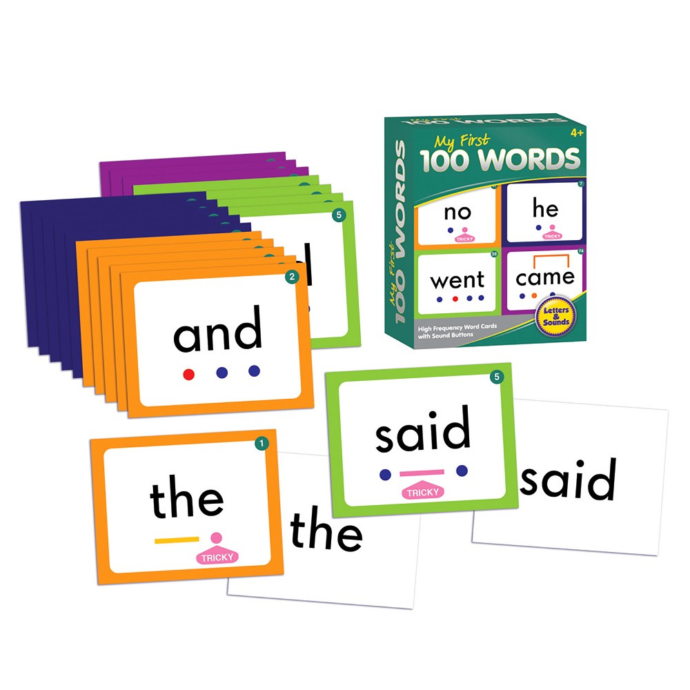 Image of Junior Learning My First 100 Words Learning Set