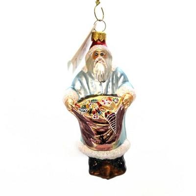 Christopher Radko Bag Of Goodies Gifts Santa Christmas  -  Tree Ornaments