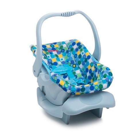 Joovy Baby Doll Car Seat Blue Dot Target