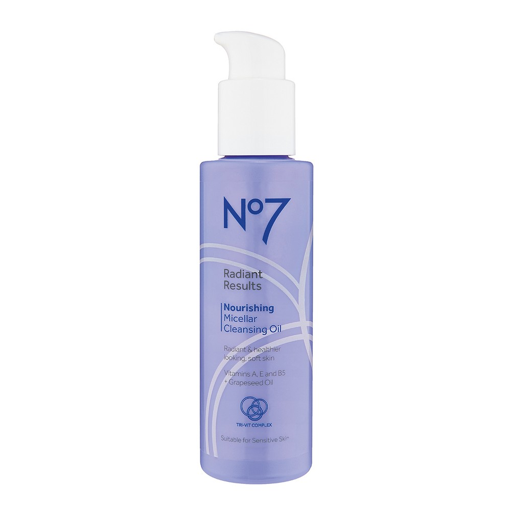 EAN 5000167255218 product image for No7 Radiant Results Nourishing Micellar Cleansing Oil - 5oz | upcitemdb.com
