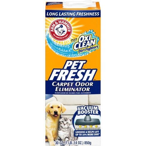 Arm Hammer Plus Oxi Clean Pet Fresh Carpet Odor Eliminator