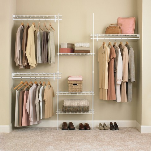 ClosetMaid SuperSlide® Closet Organizer Kit - White (5' to 8') - image 1 of 1