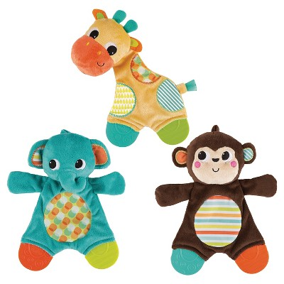 Bright Starts Snuggle & Teether - Assorted Colors