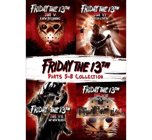 Friday The 13th Deluxe Edition (5-8) (DVD) - image 1 of 1