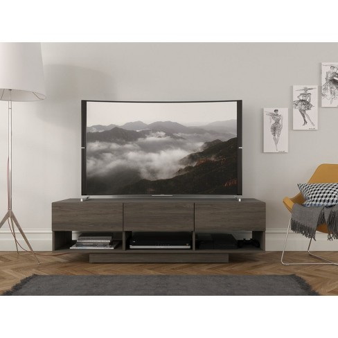 60 Rustic Tv Stand Bark Gray Nexera Target Shop target for tv stands and entertainment centers in a variety of sizes, shapes and materials. 60 rustic tv stand bark gray nexera