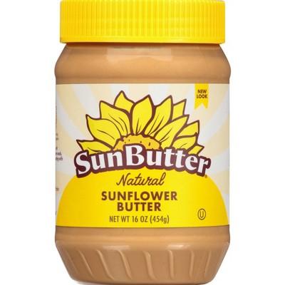 SunButter Natural Creamy Sunflower Butter - 16oz