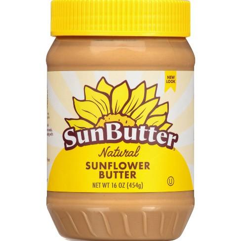 SunButter Natural Creamy Sunflower Butter - 16oz - image 1 of 4