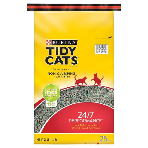 Purina Tidy Cats Non-Clumping 24/7 Performance Multiple Cats Litter - 25lbs - image 1 of 4