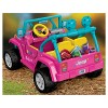 Power Wheels Barbie Jeep Wrangler - Pink - image 4 of 4