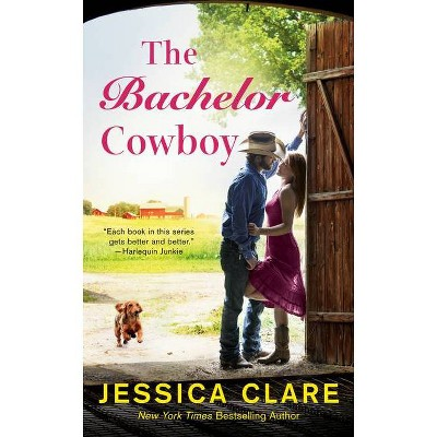 The Bachelor Cowboy - (Wyoming Cowboys) by  Jessica Clare (Paperback)