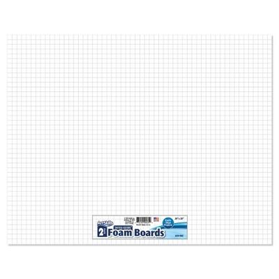 """ArtSkills 2pk 20"""" x 28"""" Invisi-Guide Presentation Boards"""