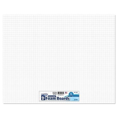 """ArtSkills 2pk 20"""" x 28"""" Invisi-Guide Presentation Boards - image 1 of 3"""