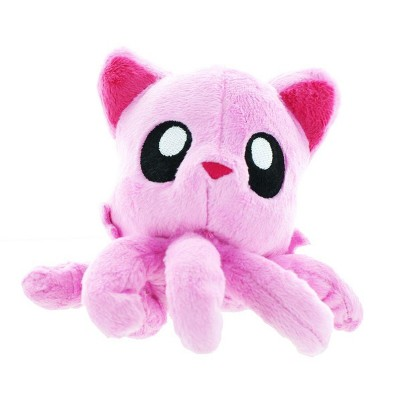 "Tentacle Kitty 4"" Little One Plush, Cherry Blossom (Pink)"