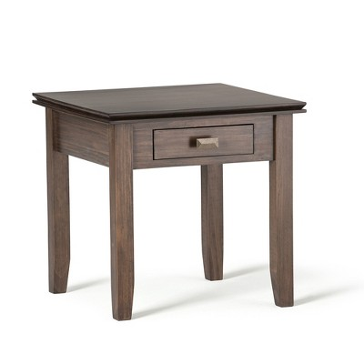 Stratford Solid Wood End Table  - Wyndenhall