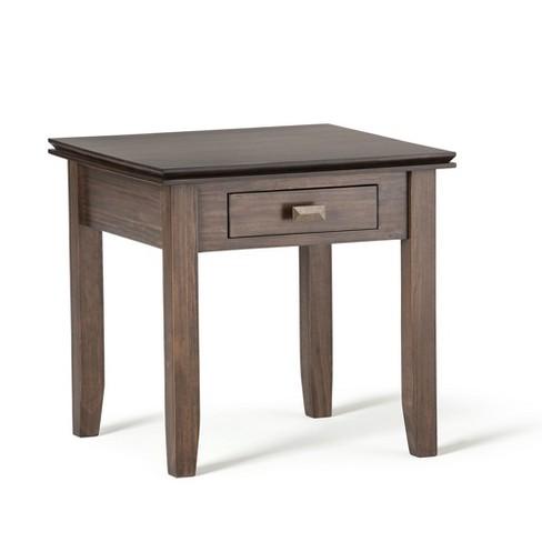 Stratford Solid Wood Bedside Table  - Wyndenhall - image 1 of 4