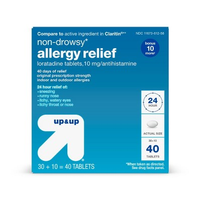 Loratadine Allergy Relief Tablets - up & up™