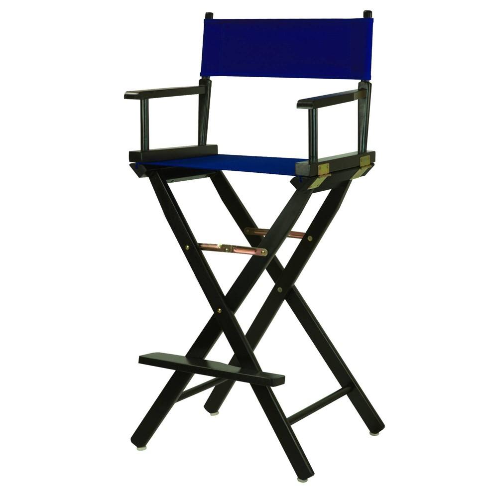 Bar Height Director 39 S Chair 45 Royal Blue