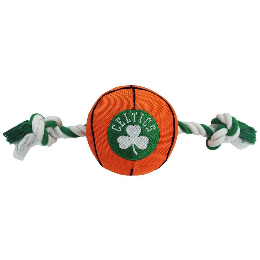 Nba Boston Celtics Basketball Rope Toy