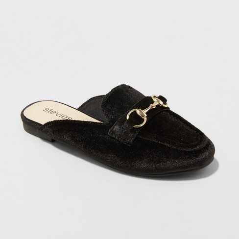 Girls' Stevies #BOOKMARK  Mules - Black - image 1 of 3