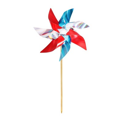 "40"" Pinwheel Colorblock Red White Blue - Sun Squad™"
