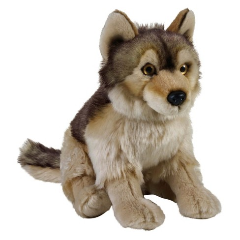 Lelly National Geographic Wolf Hand Puppet - image 1 of 1