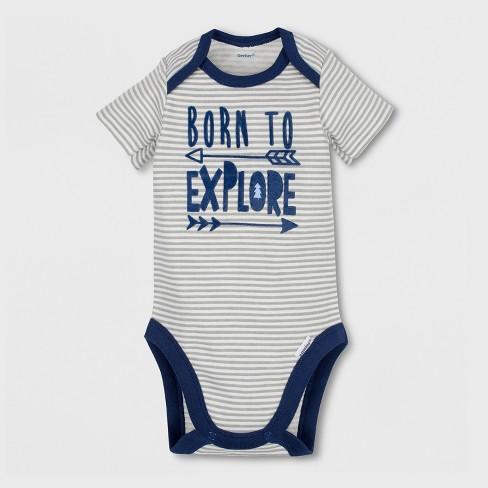 a15f96a9c Gerber Baby Boys  4pc Short Sleeve Bodysuit