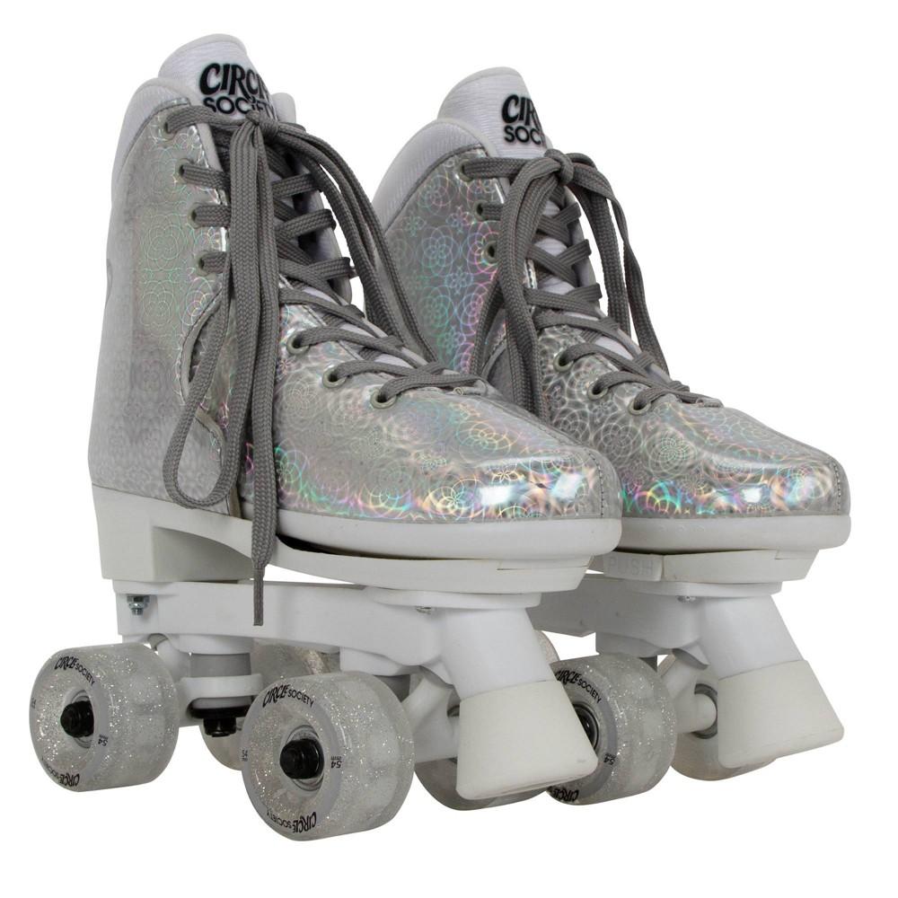 Circle Society Adjustable Skate Disco A Size 3-7, Kids Unisex