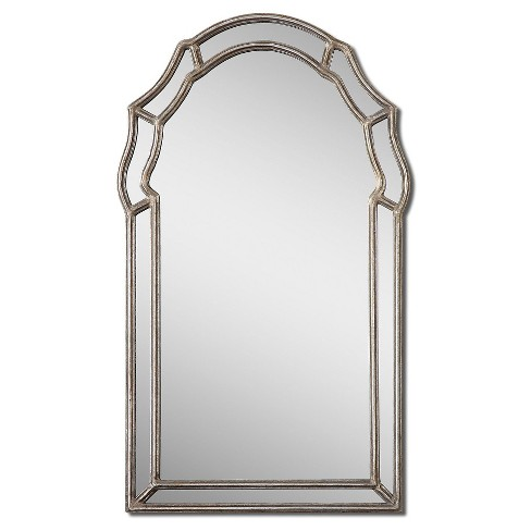 Arched Petrizzi Decorative Wall Mirror Silver - Uttermost - image 1 of 1