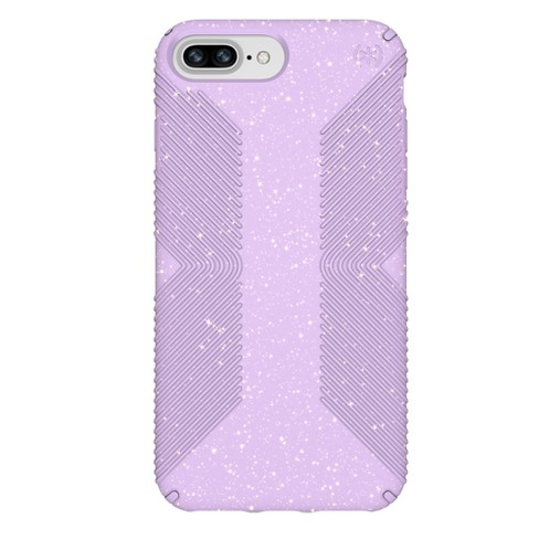 Speck Apple iPhone 8 Plus/7 Plus/6s Plus/6 Plus Case Presidio Grip - Purple/Gold Glitter - image 1 of 4