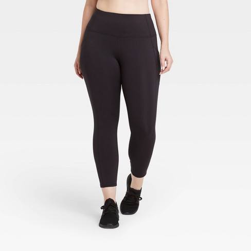 """Women's Sculpted High-Rise 7/8 Leggings 24"""" - All in Motion™ - image 1 of 4"""
