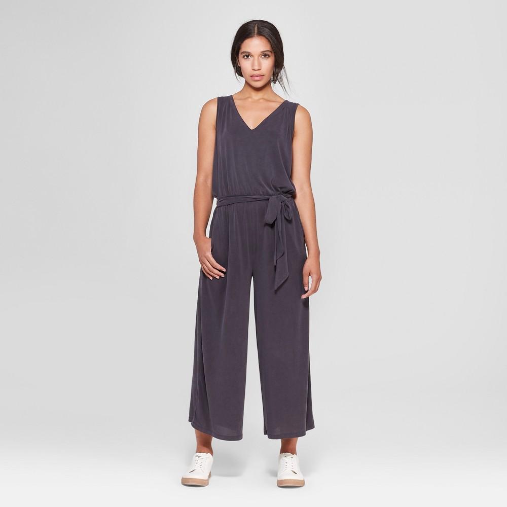 Women's Sleeveless Knit Jumpsuit - Prologue Gray M