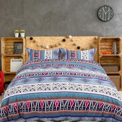 3 Pcs 100% Quality Polyester Bohemian Soft Lightweight Comfortable Comforter Bedding Sets - PiccoCasa