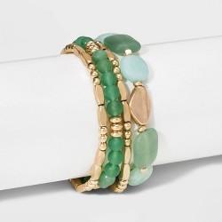Semi-Precious Stretch Bracelet - Universal Thread™