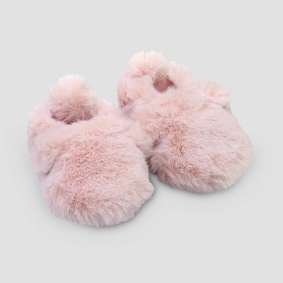 Baby Girls' Bear Slippers - Just One You® made by carter's Pink