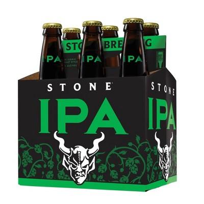 Stone IPA Beer - 6pk/12 fl oz Bottles