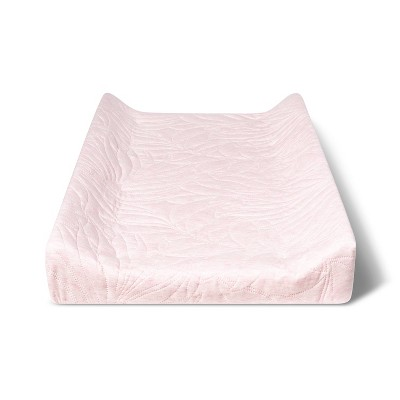 Changing Pad Cover Pink Leaves - Cloud Island™ Pink