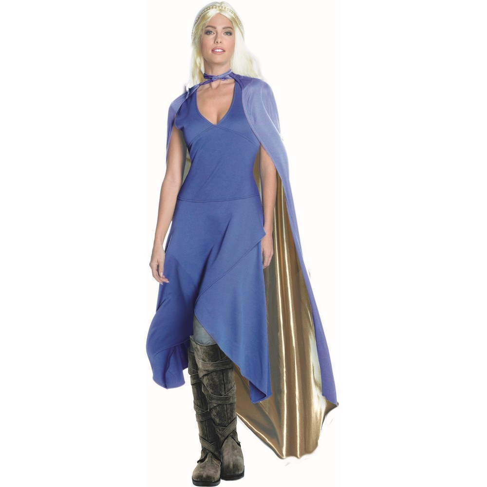Image of Halloween Women's Dragon Queen Halloween Costume L, Size: Large, MultiColored