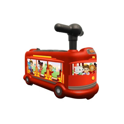 Best Ride On Cars Daniel Tiger Trolley Push Car Ride-On - Red