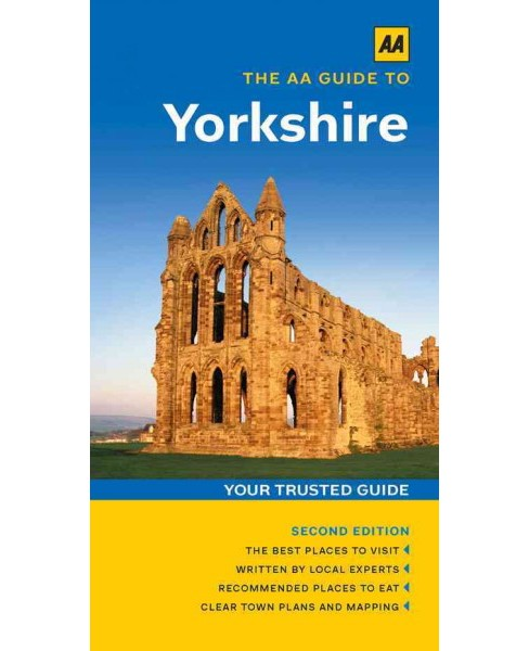 AA Guide to Yorkshire (Paperback) (Andrew White) - image 1 of 1