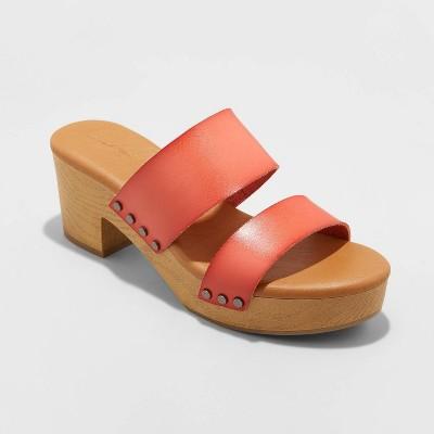 Women's Raegan Mule Clog Heels - Universal Thread™