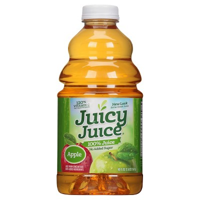 Juicy Juice Apple 100% Juice - 48 floz Bottle
