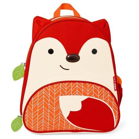 Skip Hop Zoo Little   Toddler Kids  Backpack - Fox   Target 7f51762fca